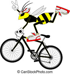 Wasp freestyle - Creative design of wasp freestyle