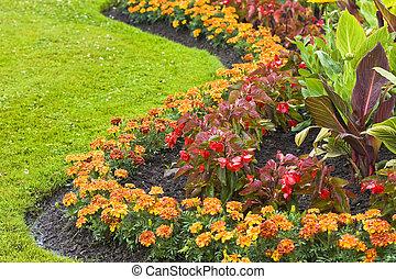 Gardening - flowered loan