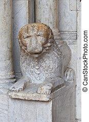 Cathedral of Civita Castellana. Lazio. Italy.