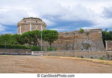 Forte Sangallo. Civita Castellana. Lazio. Italy.