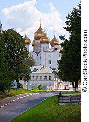 Assumption cathedral at Yaroslavl - Assumption cathedral at...