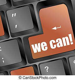 Social media key with we can text on laptop keyboard