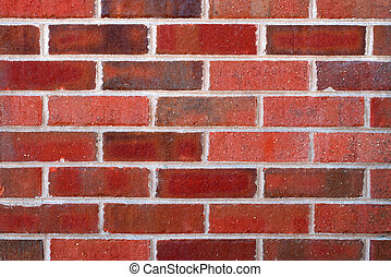 Closeup of brick wall for background use.