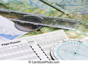 planning a flight - flight planner and other tools