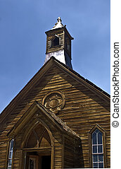 Bodie Methodist Church - This is the old, abandoned...