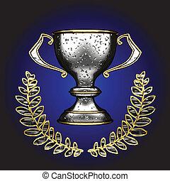 vector silver  award