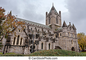 Christ Church Cathedral. Dublin, Ireland - Christ Church...