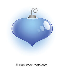 Heart Shaped Christmas Bauble