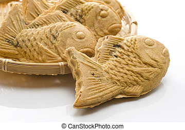 Taiyaki of japanese traditional baked sweets