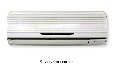 Air Condition isolated in white background. Air...