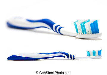 Tooth-brush isolated on white background