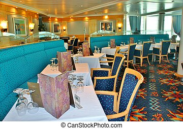 Cruise ship dining room 3