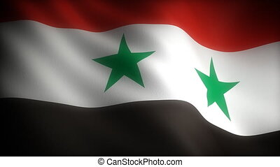 Flag of Syria seamless