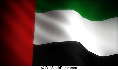 Flag of United Arab Emirates seamless