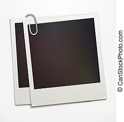 Polaroid photo frames