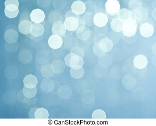 Abstract christmas lights on background