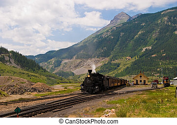 Mountain Train - The historic narrow gauge Durango-Silverton...