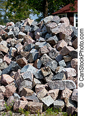 The Heap of Granite Stones