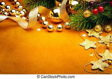 Art Christmas greeting card - Christmas greeting card...