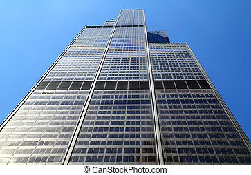 Willis Tower - CHICAGO, IL - CHICAGO, IL - MAY 4: Willis...