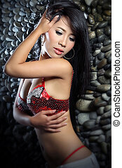 Sexy Asian Woman - potrait
