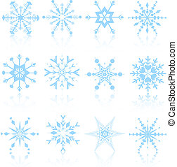 Snowflake designs - Detailed snowflake designs