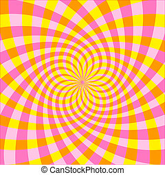 Cyclic optical illusion