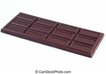 Chocolate Candy Bar - A delicious chocolate candy bar on a...