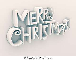 texto, navidad, alegre, aislado