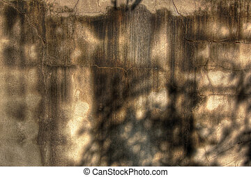 Grunge wall - An HDR photo of an old wall
