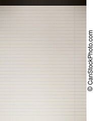 Editable vector background - white notebook paper - Editable...