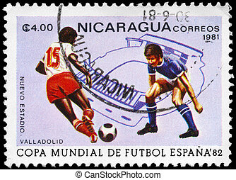 NICARAGUA - CIRCA 1981 World Cup