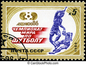 USSR - CIRCA 1986 World Cup