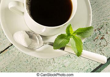 café, stevia