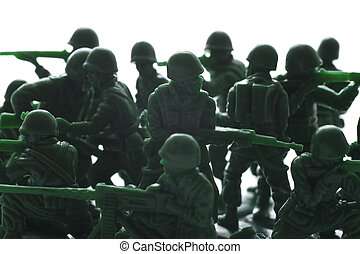 miniature toy soldiers