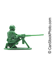 miniature toy soldier