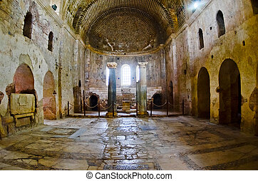 St. Nicholas Church, Demre. Turkey. - St. Nicholas Church,...