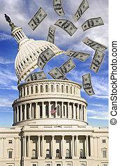 お金, ワシントン
