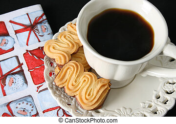 Christmas Morning Coffee - Christmas morning coffee with...