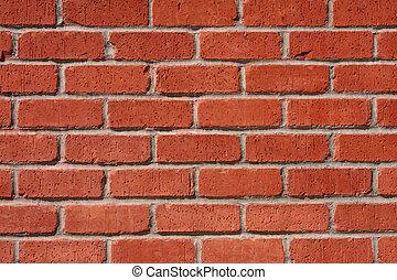 Brick and Mortar Wall