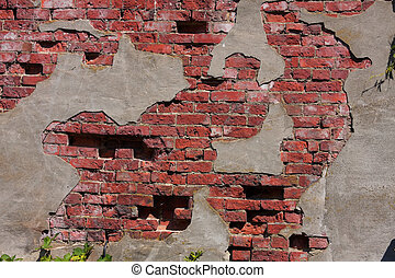 Old Brick and Stucco