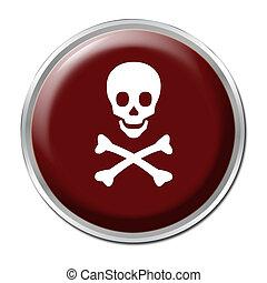 Skull Button