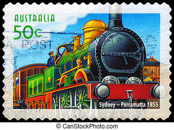 AUSTRALIA - CIRCA 2004 Sydney to Parramatta line - AUSTRALIA...