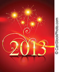 happy new year design - vector golden style happy new year...