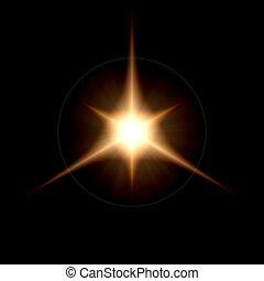 Energy Flare Solar Star