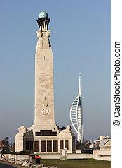 portsmouth memorial & spinnaker - a portsmouth memorial for...