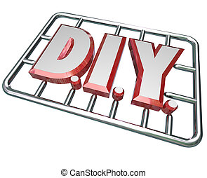 DIY Do it Yourself Letters Model Kit