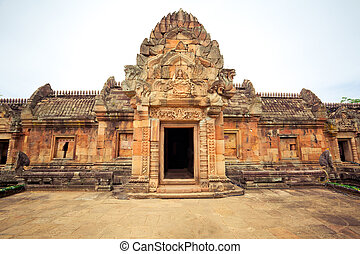 Phanom Rung Castle historical park in Thailand