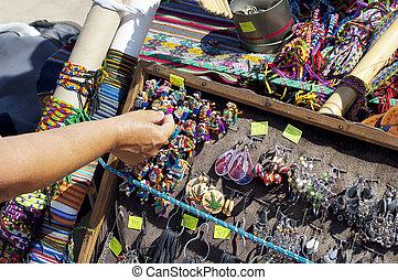 artesanías, comercio