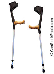 walking stick under thew white background